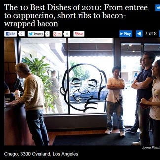 La Weekly - Best Dishes of 2010 2