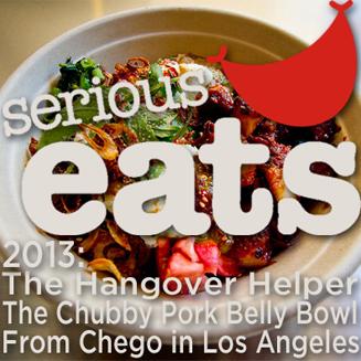 Chego Serious Eats Hangover Helper