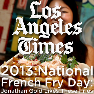 Los Angeles Times National French Fry Day